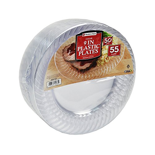 Members mark clear 9\  Plastic Plates 55 ct. 55ct. Quality disposable clear plates that are great for weddings catering foodservice showers ...  sc 1 st  Nice\u0027n Fun & Member\u0027s Mark Clear Plastic Plates 6.25\u2033 110 ct. \u2013 Nice\u0027n Fun