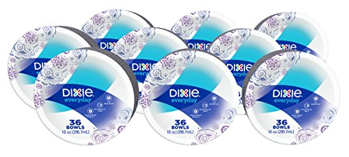 Soak Proof Shield. Packaged in an easy-to-open box. Soak Proof Shield. Dixie heavy duty 10 oz bowls 36 ct 220ct paper plates 5 packs of 44ct. Microwavable.  sc 1 st  Nice\u0027n Fun & Dixie Heavy Duty Paper Plates 6.875 Inch 48 Count Pack of 3 \u2013 Nice ...