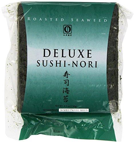 Bamboomn 2x Green 2x Natural Bamboo Sushi Rolling Mats And