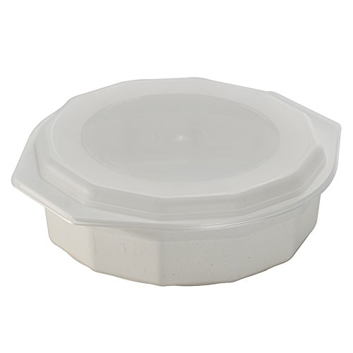 Fits standard dinner plates. Lids help keep your microwave clean. Set of 2 microwave safe bowls. Keeps food hot until served. Safe for the oven microwave ...  sc 1 st  Nice\u0027n Fun & Nordic Ware 60070FS White 10\u2033 Microwave Safe 4 Piece Dinner Plate ...