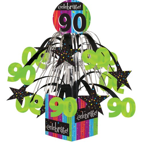 Milestones Celebrate 90 Themed Small Round Dessert Plates 7 Inch Material ECO Friendly Paper Measures Approximately 8