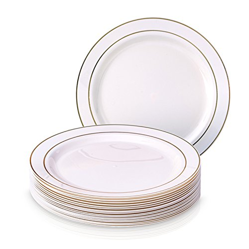 Party Disposable 20pc Dinnerware Set | 20 Side Plates | Heavyweight ...