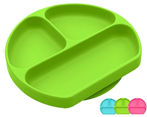 Silikong Silicone Suction Plate For Toddlers Fits Most