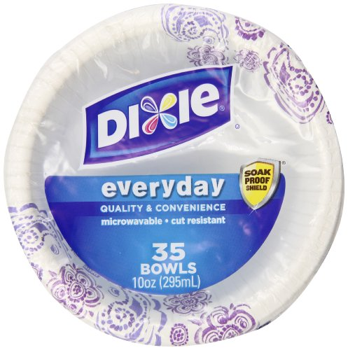 Dixie Everyday Paper Plate Bundle, Large and Small, Dinner