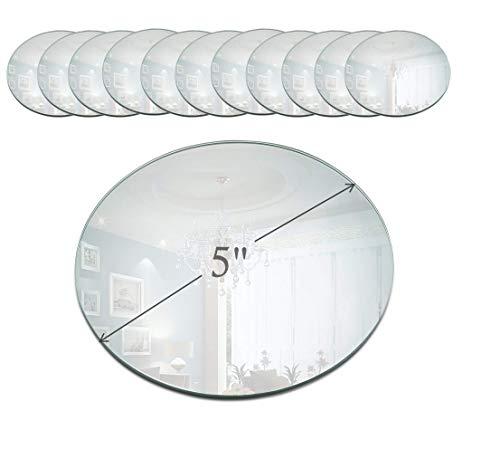 A Round Mirror Plate Is Great Idea How To Display Your Candles Including Pillar Taper And Votive Designed With Bevel Edge