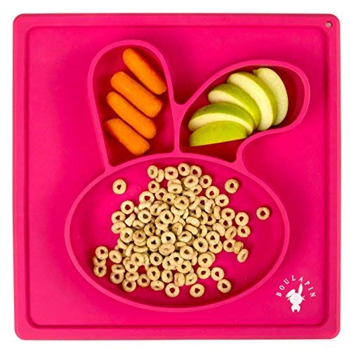Divided Toddlers Plates Silicone Placemat For Kids