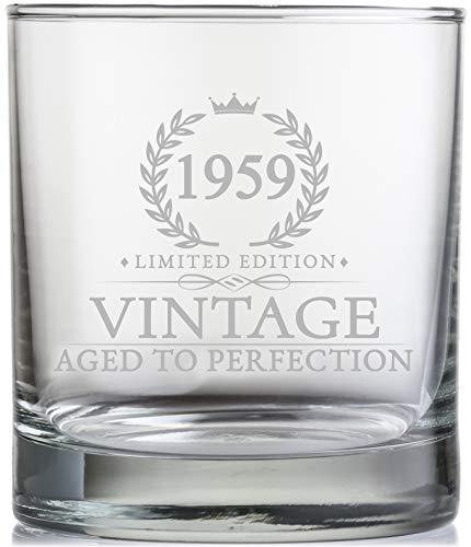 11 Oz. Vintage 1959 Whiskey Glass